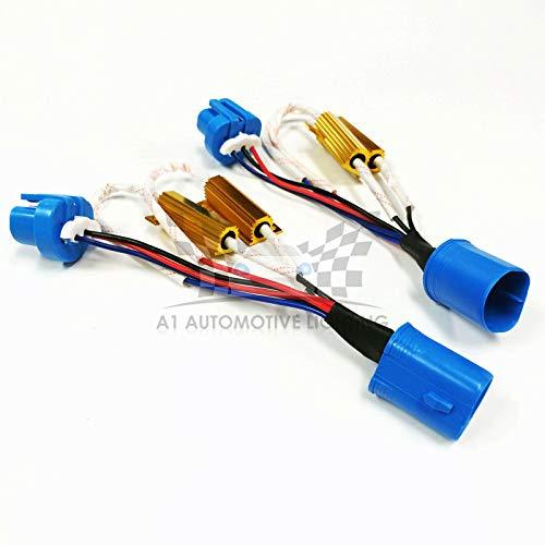 O-NEX LED Resistor Kit 9007 (HB5 9004) HID Relay Harness Adapter Anti Flicker Error Decoder Warning Canceller