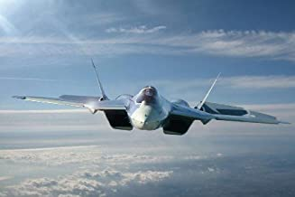 Sukhoi T50 Fighter Jet military plane russian airplane Poster Home Decoration Printing Wall Picture Print 20x30Inch