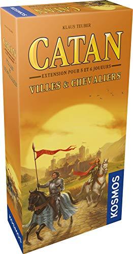 Catan Erweiterung: Städte und Ritter 5/6 Spieler Asmodee Gesellschaftsspiel Brettspiel Strategiespiel