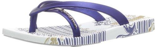 Ipanema Mädchen Fashion Kirey Zehentrenner, Weiß (White/Blue 20032), 30 EU