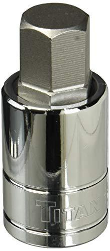 Titan 15616 1/2-Inch Drive x 16mm Hex Bit Socket