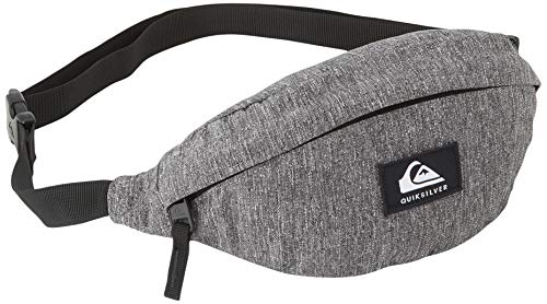 Quiksilver Pubjug-Riñonera Para Hombre, Waist Pack, light grey heather, 1SZ