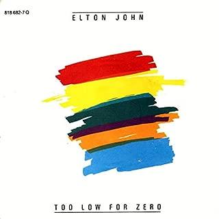 Too Low For Zero [7