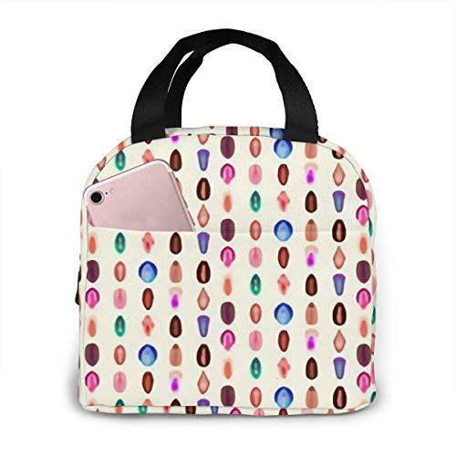ZYWL ~ Vielzahl von Vaginas Lunch Bag, süße Lunch Bags für Frauen Kinder Mädchen Männer Teen Boys, isolierte wasserdichte Lunch Tote Box für Work School Travel Picknick