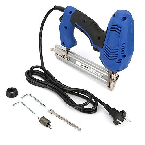 【Weihnachtsgeschenk】Elektrische Nagelmaschine, F30/K425 Elektrisches Nagelwerkzeug Gerade Nagler Holzbearbeitung Power Staple Maschine EU Stecker 220V