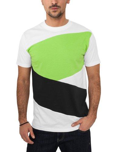 Urban Classics heren shirt met lange mouwen kleding Zig Zag Tee