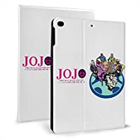 """タブレットケース Ipad ケース ジョジョの奇妙な冒険黄金の風 高級puレザー カバー Ipad Mini 5 Ipad Mini 4 Ipad 2017/2018 9.7inch Ipad Air 1/2 9.7inch 全面保護 レザーケース バックカバー 軽量 薄型 スタンドカバー スマートカバー Ipad Mini4/5 7.9"""""""