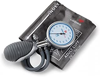 Esfigmomanómetro aneroide portátil en dos tubos de
