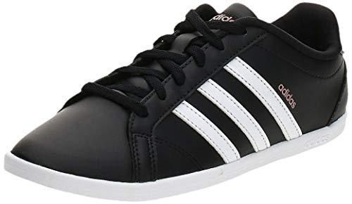 adidas Coneo QT, Chaussures de Fitness Femme, Noir (Negbas/Ftwbla/Grmeva 000), 38 2/3 EU