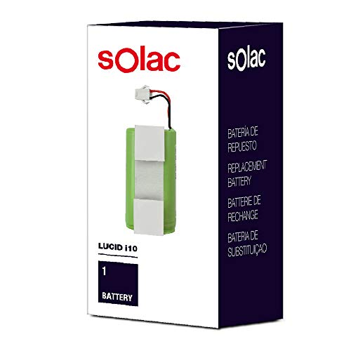 Solac S99942600 - Batería de respuesto para robot aspirador Lucid i10