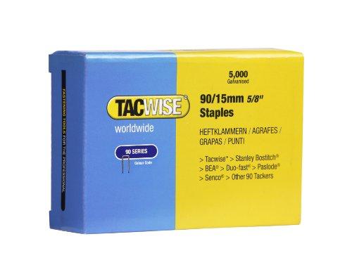 Tacwise Type 90/15mm smalle kroonnietjes voor nietpistool (doos 5000)