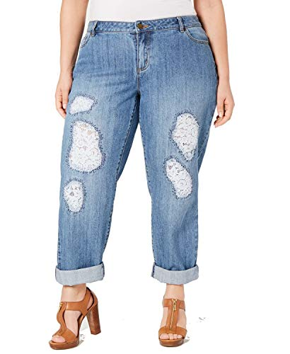 Collection: MICHAEL - Style WH89CR9N37 MSRP - $155.00 / Jeans (Plus Size Sizing) Relaxed Fit Medium Weight