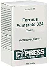 Ferrous Fumarate 324 Tablets, Boxed, 100ct