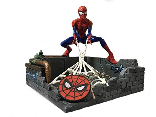 Marvel Spider-Man Finders Keypers Statue | Official Spider-Man Key Holder Figure | Holds Your Keys, Wallet, Watch & More | Measures 5.5 Inches