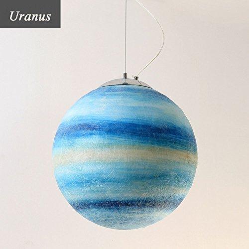 Pendelleuchten, Kinder Planet Kronleuchter Universum Planet für Wohnzimmer Restaurant Cafe (Color : Uranus)