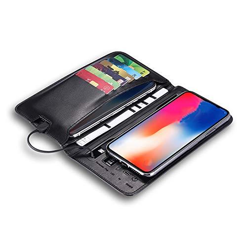 NCBH mobiele portemonnee, 5000 mAh, draadloos, met oplaadkabel voor mobiele telefoons van tablets, digitale camera's, voor buiten