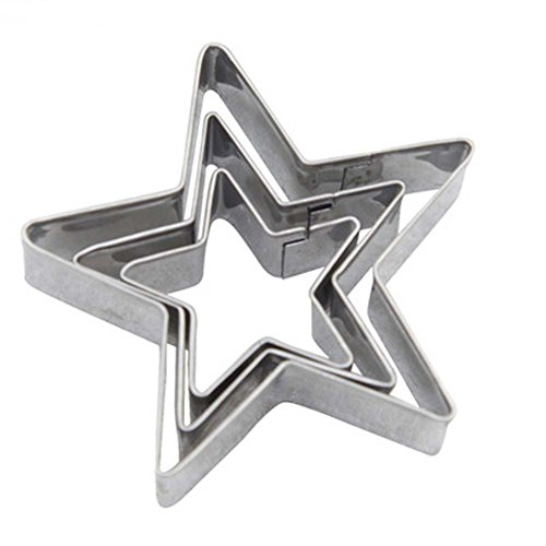 Star Cookie Cutter Shape, Stainless Steel Bakeware Tools