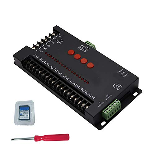 NZYMD DC 5-24V Regler programmierbar LED Dimmer Monochrom-Controller mehrzweckgeräte Regler mit SD-farbigem Sprungsteuerstrom