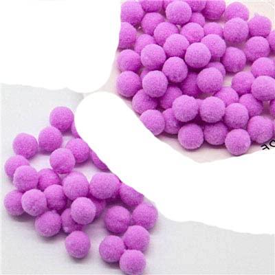 8/10/15/20/25 / 30mm Mini bolas de pompón mullido suave hecho a mano juguetes para niños decoración de boda pompones suministros para manualidades de costura-15m 26150 Uds