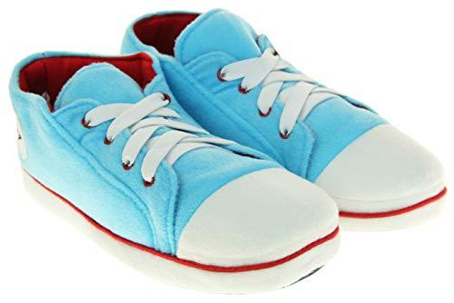 Dunlop Donna Pantofole Sneaker Stivali Blu Chiaro EU 38-39