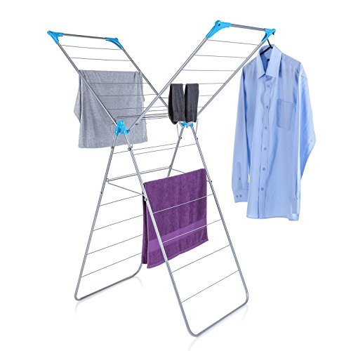 Minky X Wing Indoor Airer with Drying Space