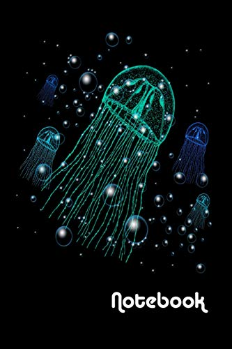 Notebook: Jellyfish Homework Book Notepad Composition and Journal Diary