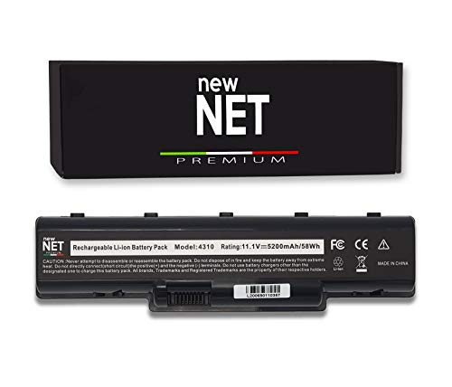 New Net Premium Batería AS07A41 compatible con Acer Aspire 4730 4730G 4730Z 4730ZG 4735 4735Z 4735ZG 4736 4736G 4736Z 4736ZG 4740 4740G 4920 499999 20G 49. 25 4925G 4930 4930G