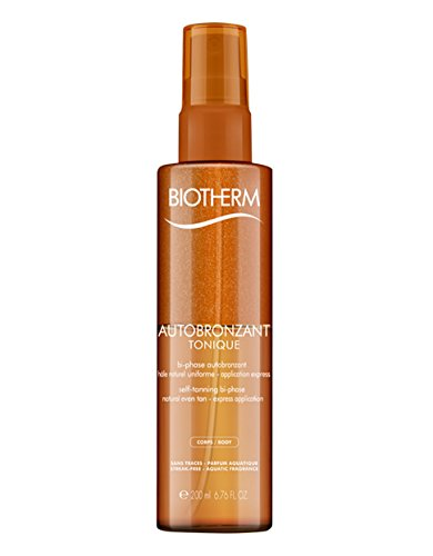 Biotherm Autobronzant Tonique femme/women, Self-Taning bi-phase natural even tan, 1er Pack (1 x 200 g)