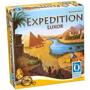 Queen Games 10382 Expedition Luxor - Juego de mesa, Multicolor