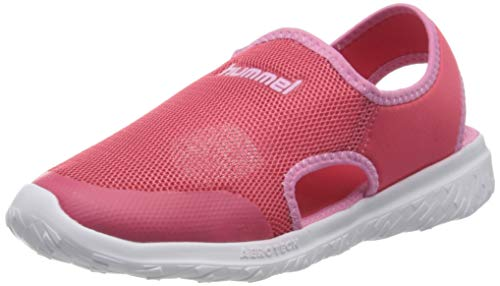 Hummel Mädchen Playa Actus Jr Sneaker Niedrig, Rot (Claret Red 3067), 32 EU
