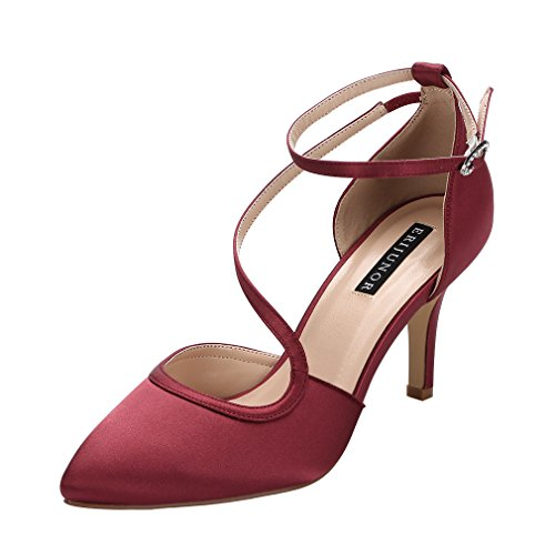 Top 10 best selling list for shoes color for burgundy dress