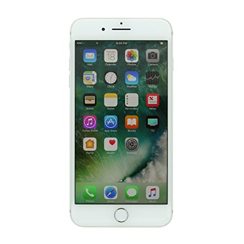 Apple iPhone 7 Plus, 32GB, Silver - Fully Unlocked (Renewed)