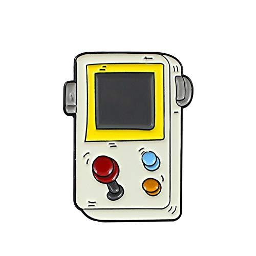 Spielmaschine Serie Brosche Cartoon Retro Control Spielmaschine Griff Mode Icon Abzeichen Revers Kleidung Emaille Pin Kinder Geschenke