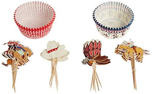 Meri Meri Cupcake-Set Cowboy / Western