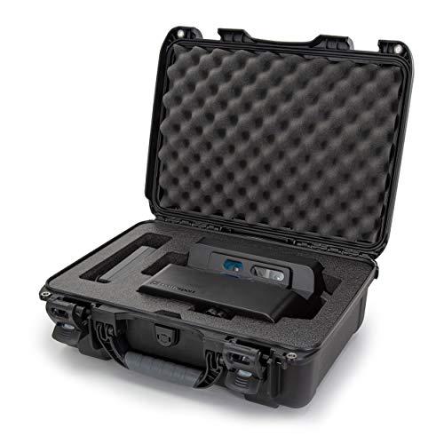 Nanuk 925 Hartschalenkoffer für Matterport Kamera, wasserdicht, mit Schaumstoffeinsatz, Schwarz