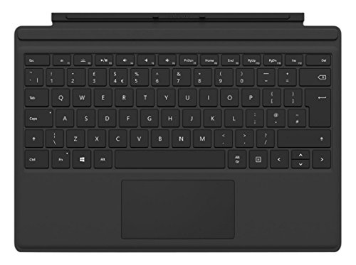 Microsoft Surface Pro 4 Type Keyboard- compatible with Surface Pro - Black