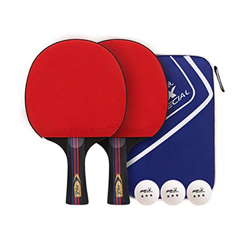 Why Choose HUIJUNWENTI Table Tennis Racket, Suitable for Outdoor Sports and Fitness Rackets, 2 Packs...