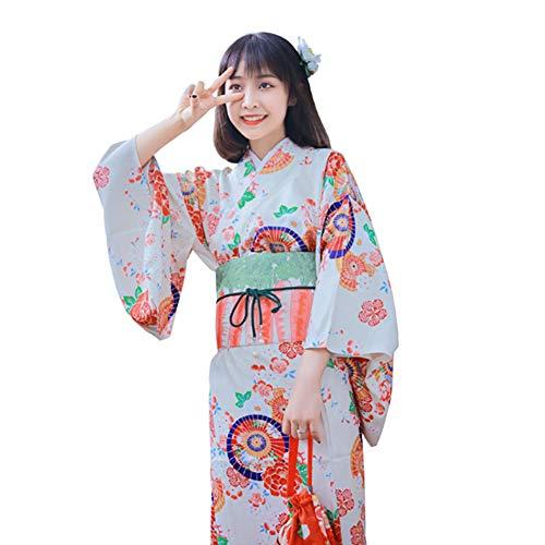 Japanese Dress Kimono Robe Lindo Yukata Photography Cosplay Costume,Kimono+Belt