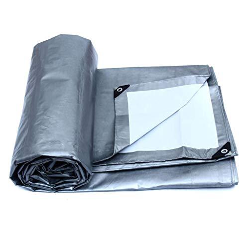 Bâche de Protection Toile antipluie imperméable en Toile de Poncho auvent épais Toile linoléum Toile de Protection Solaire en Toile de Protection Solaire - Options Multi-Tailles