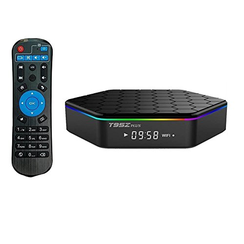 YFish Android Smart TV Box Octa-Core 2G RAM 16G ROM T95Z Plus Cortex-A53 WiFi 2.4/5G 1000m LAN Bluetooth 4.0 UHD 4K 3D