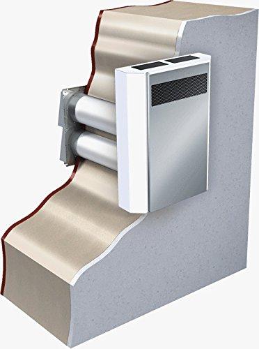 Dezentrale Wohnraumlüftung mit Wärmerückgewinnung ORIGINAL MICRA 60 A4