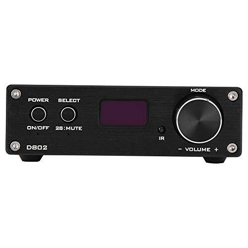 HiFi Home Audio digitale versterker, afstandsbediening USB/optische/coaxiale ingang Mini Hi-Fi Sound Stereo eindversterker voor Home-luidsprekers(EU)