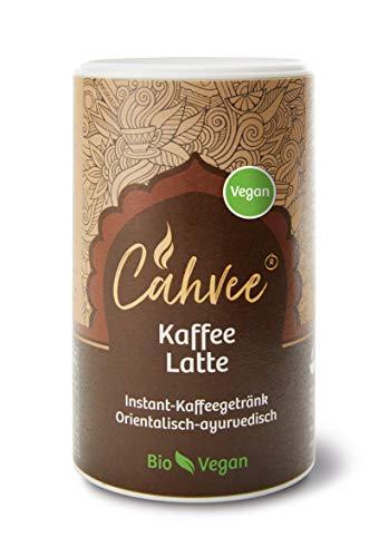 Cahvee Kaffee Latte Bio   Ayurvedisches Bio Getränkepulver   220g (Bio vegan)