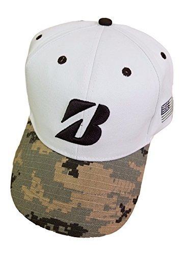 Bridgestone Army Camo Adjustable Golf Cap