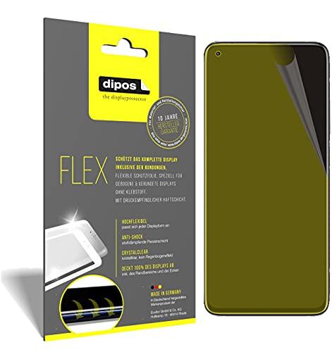 dipos I 3X Protector de Pantalla Compatible con Xiaomi Redmi K30S - Cobertura 100% para Pantalla I 3D Full Cover láminas Protectoras