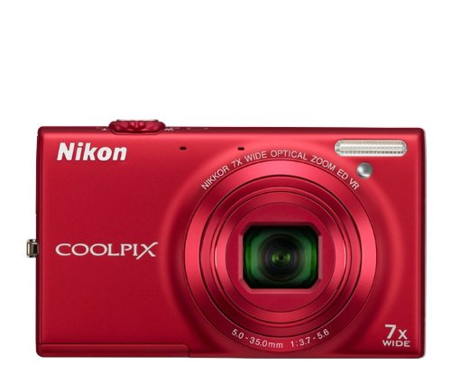 Discounted -Nikon COOLPIX S6100 16 MP Digital Camera with 7x