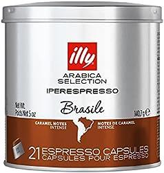 Illy Illy Arabica Selection iperEspresso Capsules Brazil Coffee - Carton,,7105