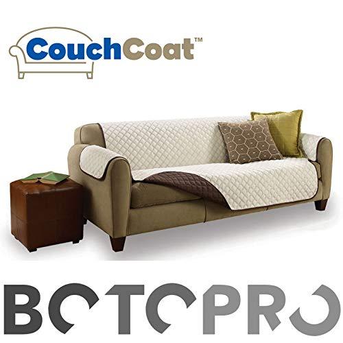 BOTOPRO - Couch Coat, la Funda de sofá Impermeable, Lavable y Reversible - Anunciado en TV