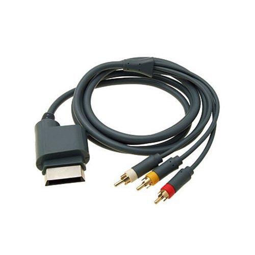 OSTENT RCA AV Audio Video Óptico Cable Compatible para Microsoft Xbox 360...