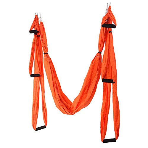 Purchase QXKMZ Aerial Yoga Swing, Flying Trapeze Set - Super Anti-Gravity Indoor/Outdoor Silk Hammoc...